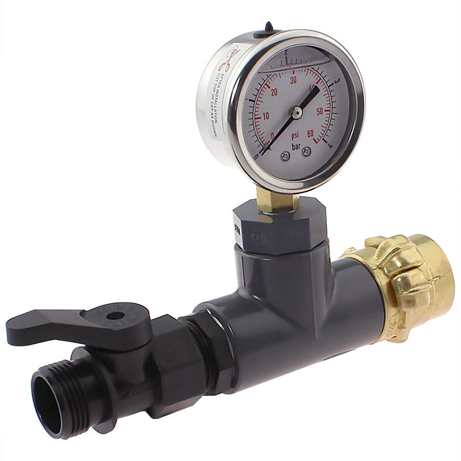 Messgerät für Druck- und Durchflussbestimmung
