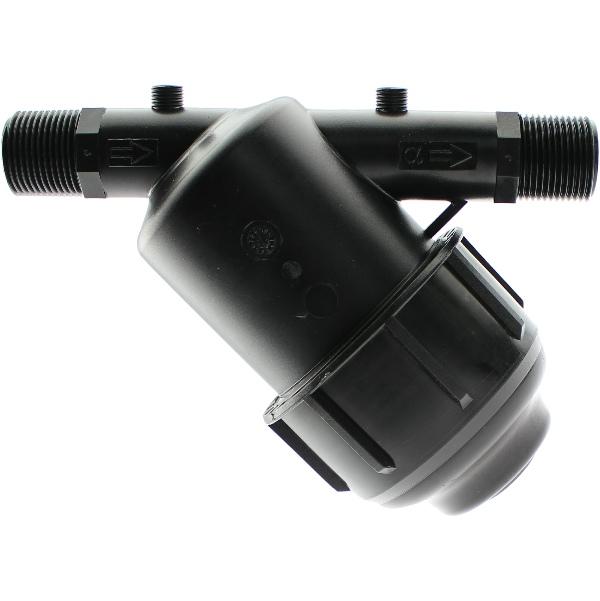 PP Y-filter with male thread Plastica Alfa