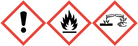 Gefahrenhinweis-Coraplax-Kleber