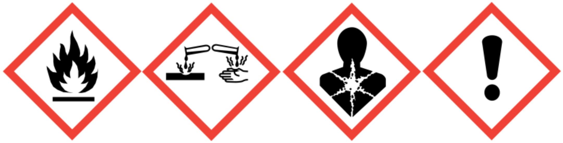 Gefahrenhinweis-Tangit-Kleber