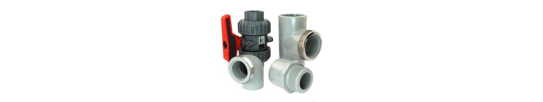 PVC-C Fittings Rohr und Armaturen