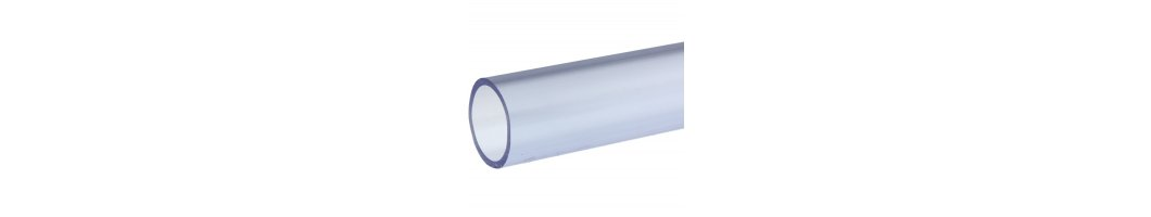 PVC-U Rohr Transparent