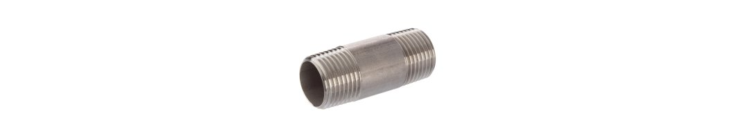 A4 ss male threaded pipe nipple...