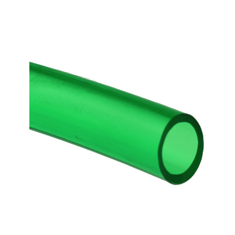 PVC Schlauch Gr�n transparent 9/12mm