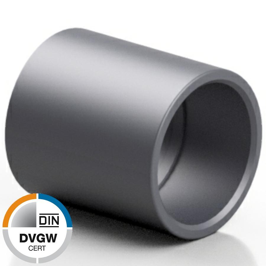 U-PVC solvent socket - DVGW