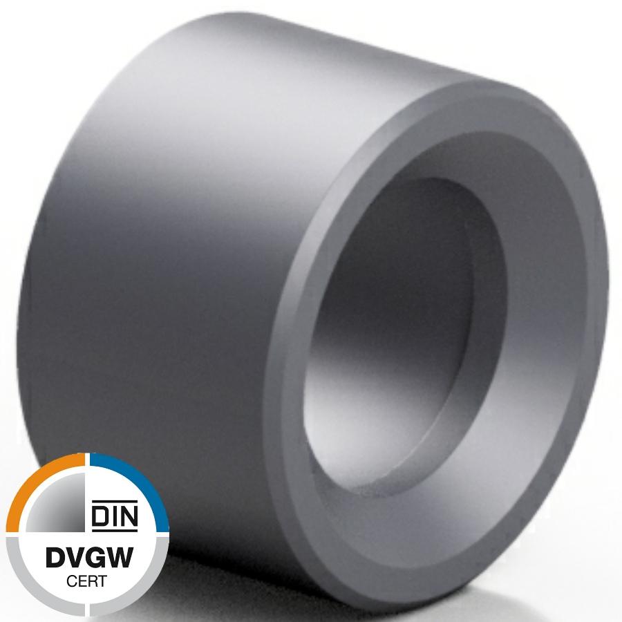 PVC-U Reduzierring Klebestutzen x -muffe DVGW