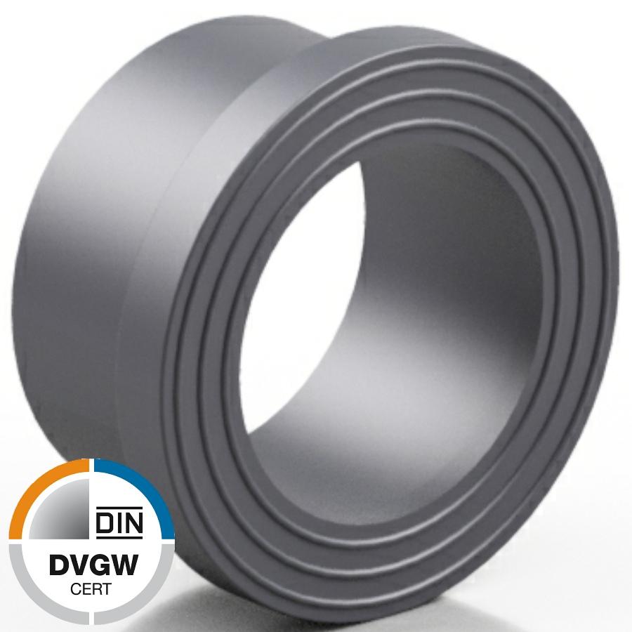 PVC-U Bundbuchse DVGW