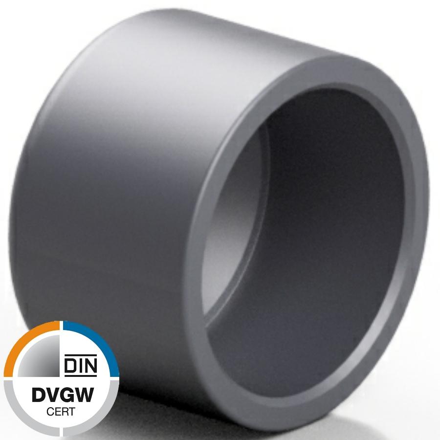 PVC-U Endkappe Klebekappe DVGW