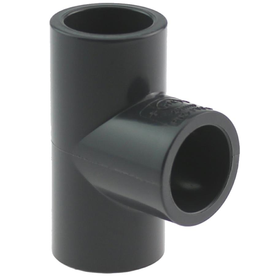 U-PVC solvent tee 90°