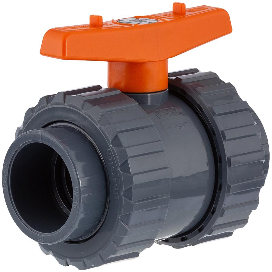 U-PVC 2 way ball valve