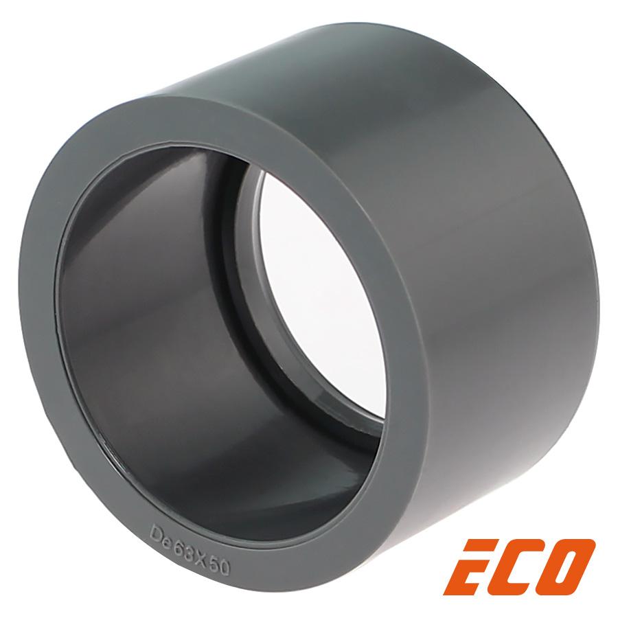 PVC-U Reduzierring ECO, Klebestutzen x Klebemuffe
