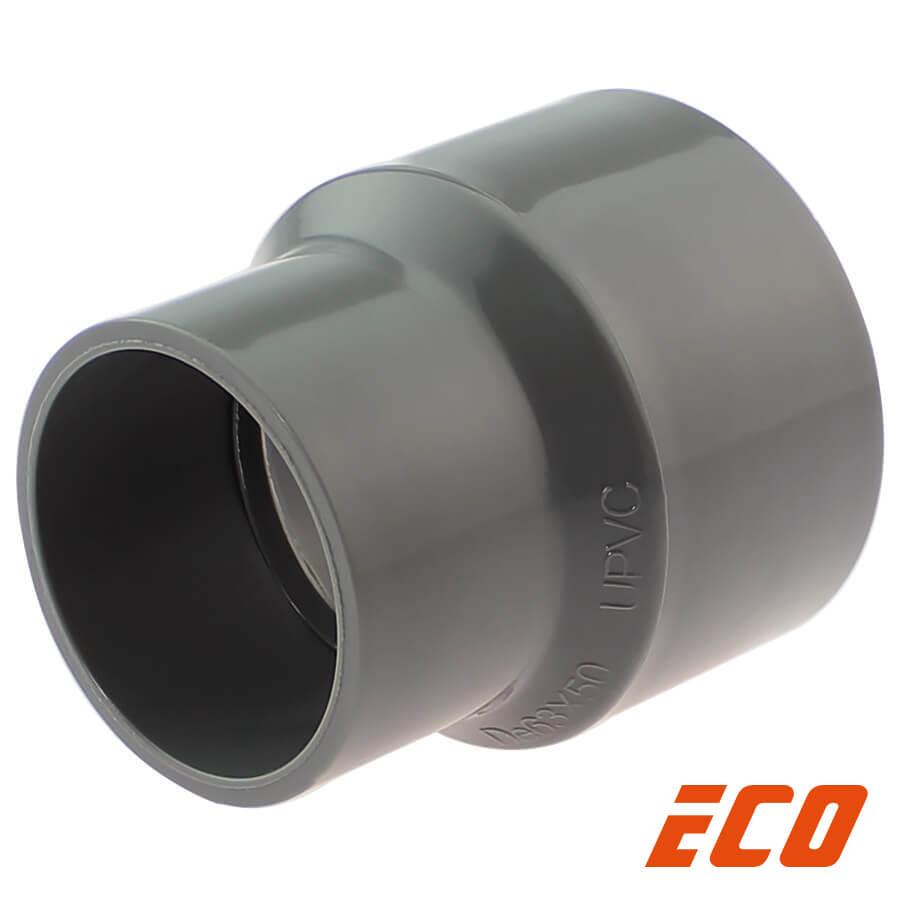PVC-U Reduziermuffe ECO, 2fach Klebemuffe