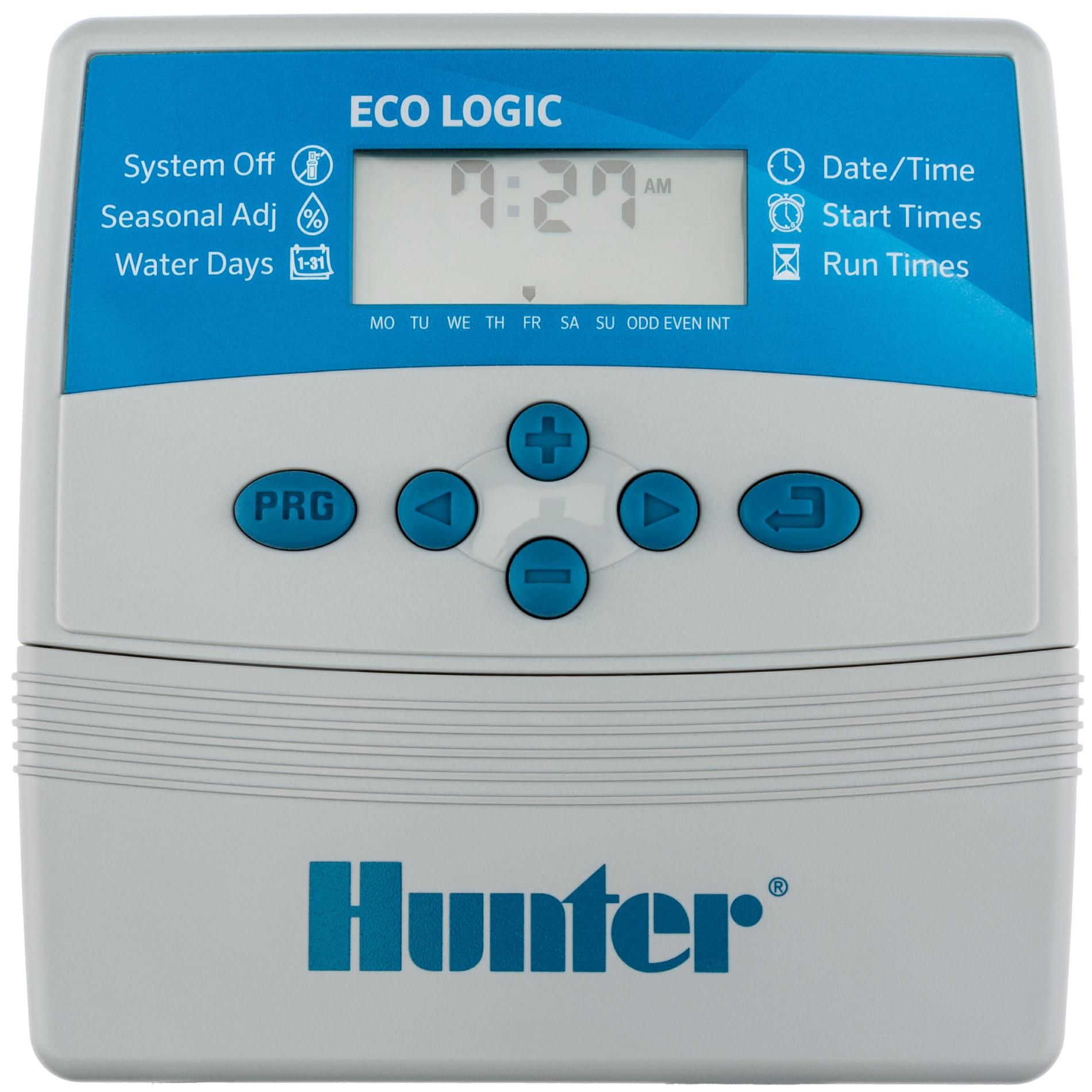 Hunter ECO LOGIC Indoor irrigation controller