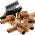 Steckverbinder 17mm für Tropfrohr Verlegerohr DURA FLOW