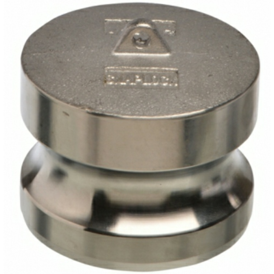 A4 ss CAMLOCK type DP male end adapter