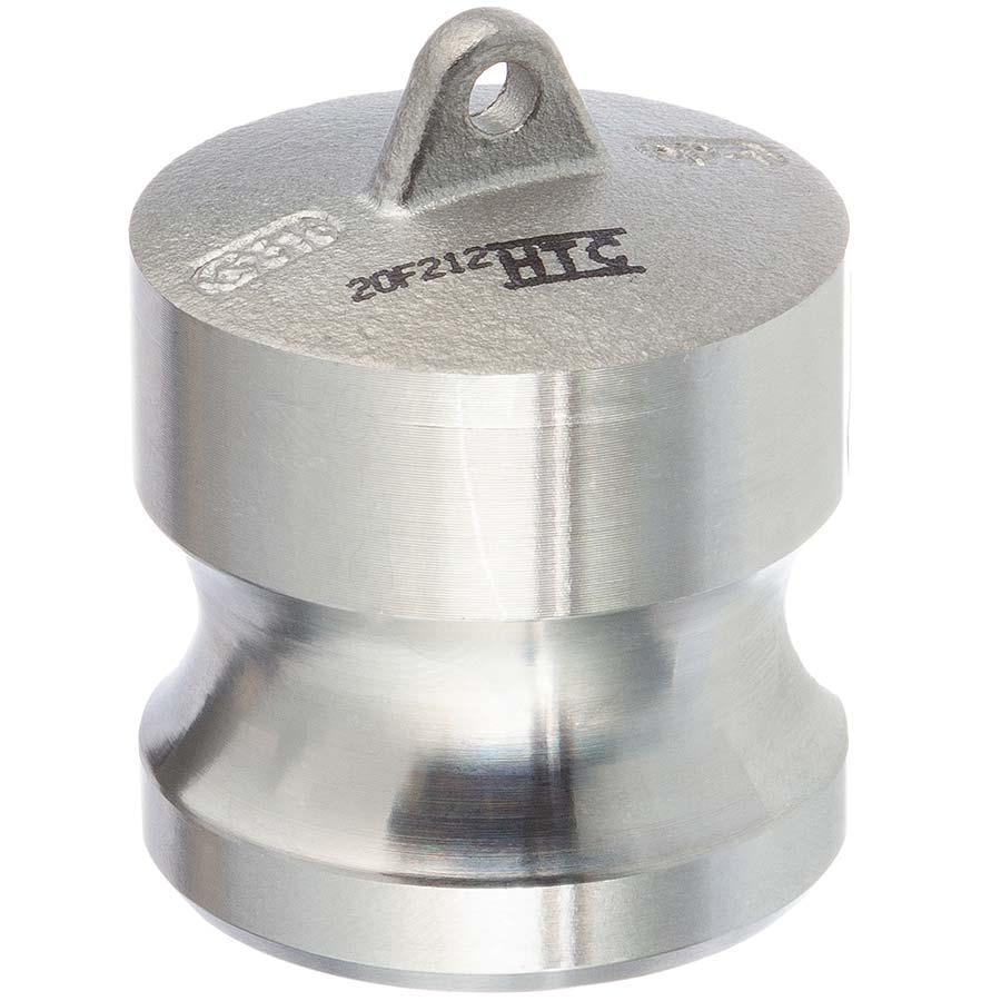 Edelstahl V4A Typ DP Vaterteil Endkappe Blindkupplung