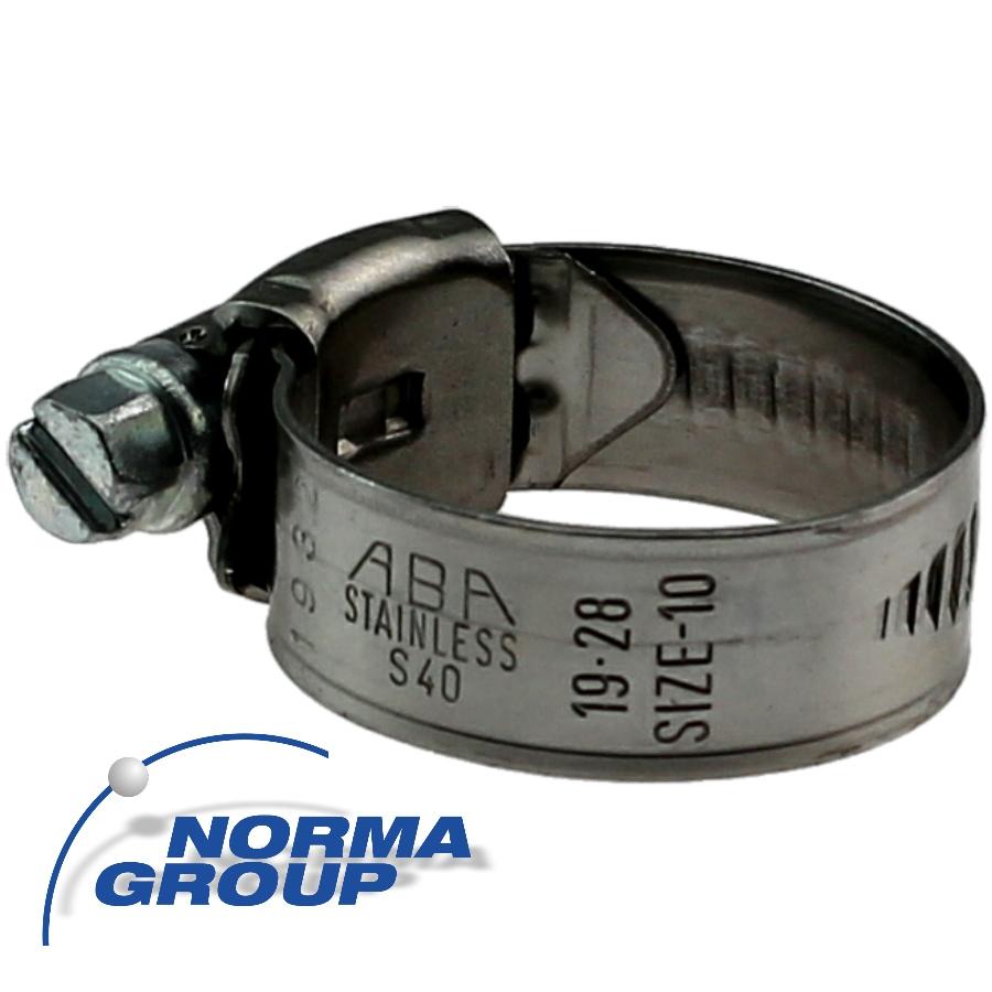 Hose clamp ABA Nova Original <strong>9/12mm W4 A4 ss
