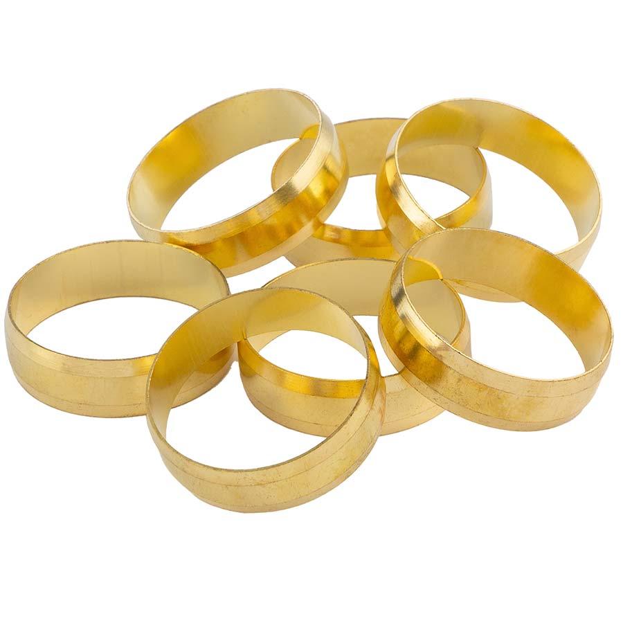 Anello di ricambio per raccordi a compressione in ottone