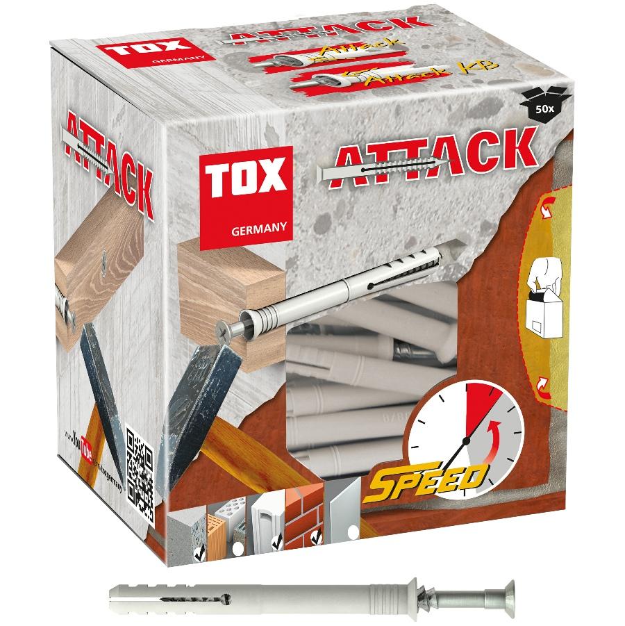 TOX nail wall plug Attack