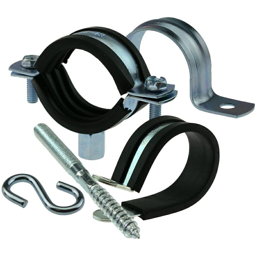 Rohrhalterung & Zubehör Stahl verzinkt