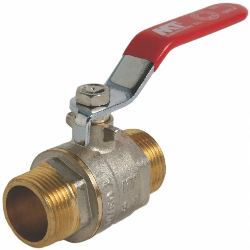Brass male threaded ball valve