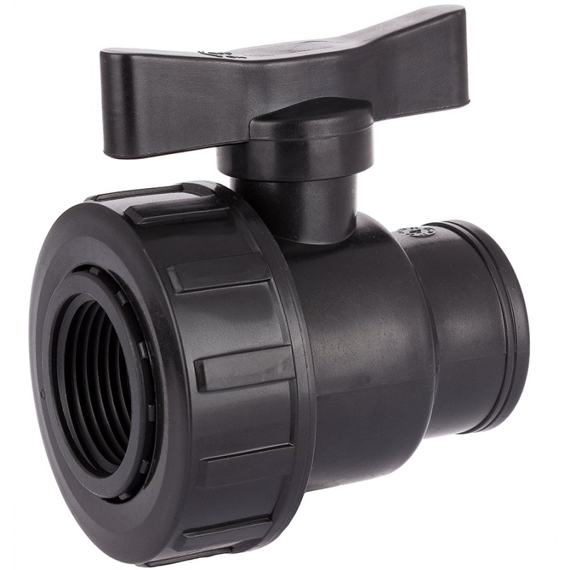 PP female threaded ball valve