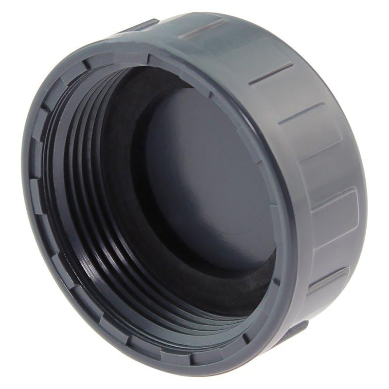 Kappen für Rundrohre 10 bis 11 mm 100 x Rundrohrkappe 10 mm grau UV-stabil