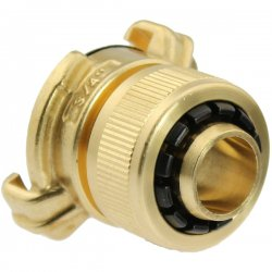 Brass quick bayonet adapter for hose