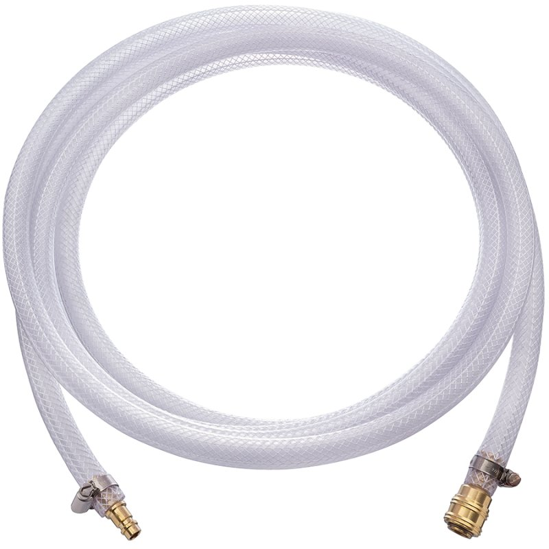 Compressed air hose set incl. plug nipple and coupling