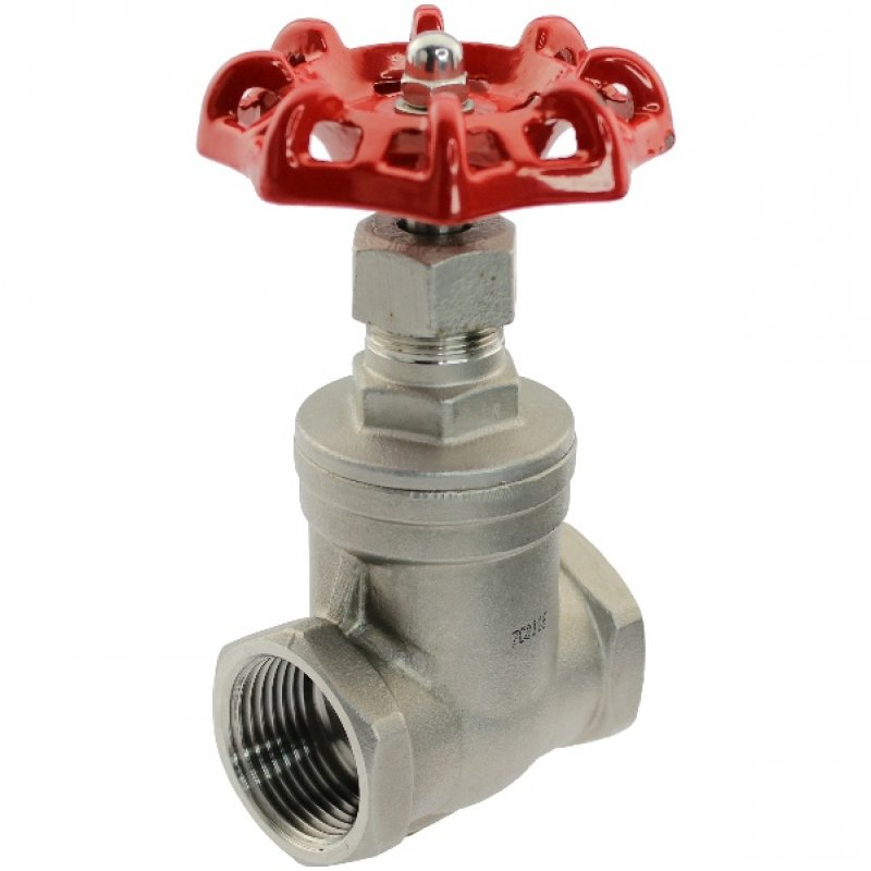 A4 ss female threaded gate valve