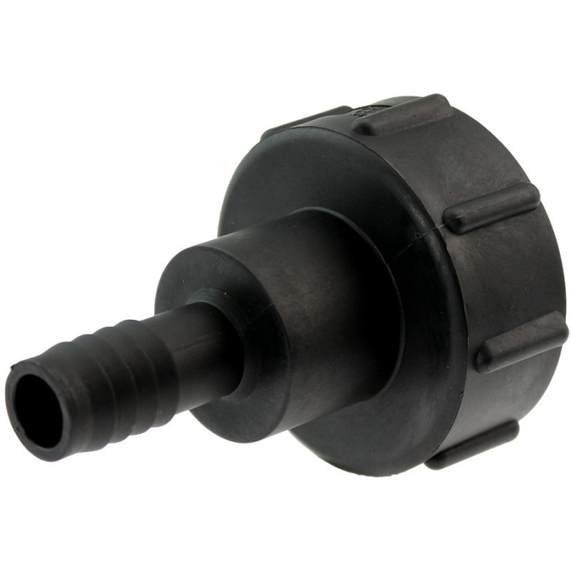 IBC container coupling S60*6 with hose tail