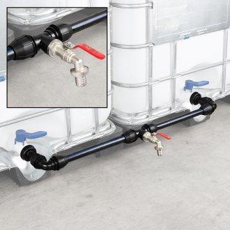 IBC Verbindungsset Container nebeneinander mit Wasserhahn
