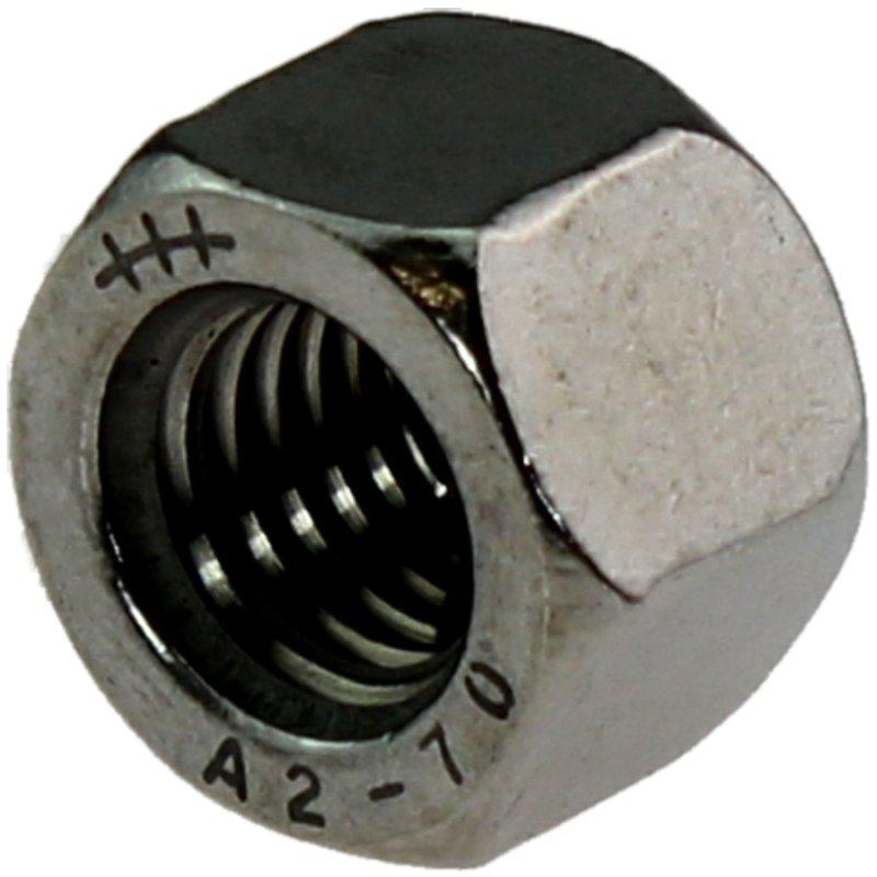 20 St/ück DIN 917 Sechskant Hutmuttern rostfrei FASTON Hutmuttern niedrige Form M3 Edelstahl A2 V2A