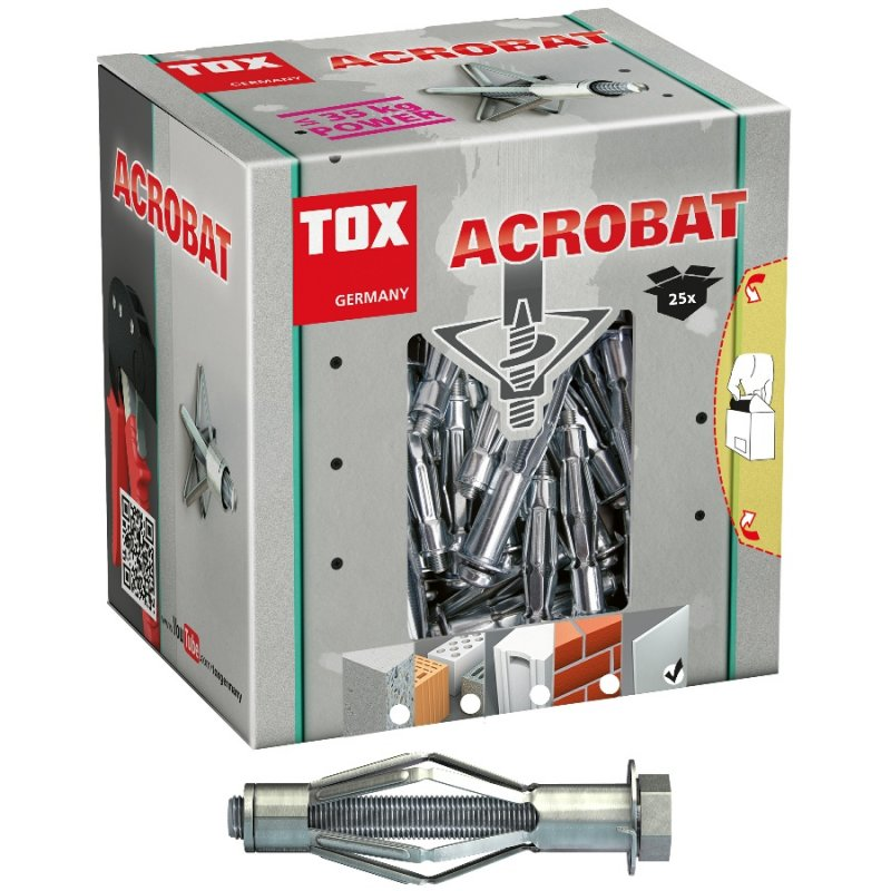 TOX Metall-Hohlraumdübel Acrobat